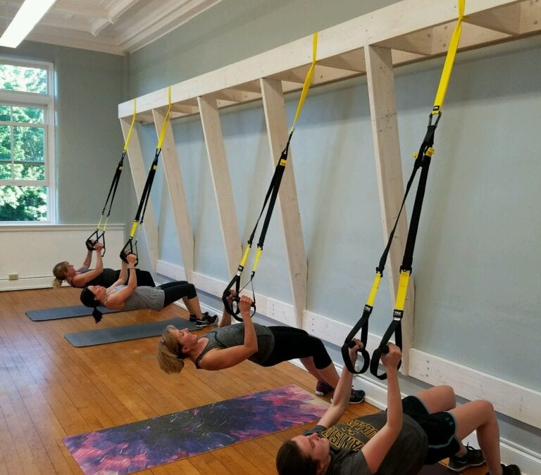 Embrace the Sweat:  New TRX FUSION Class
